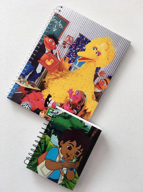 2 cahiers