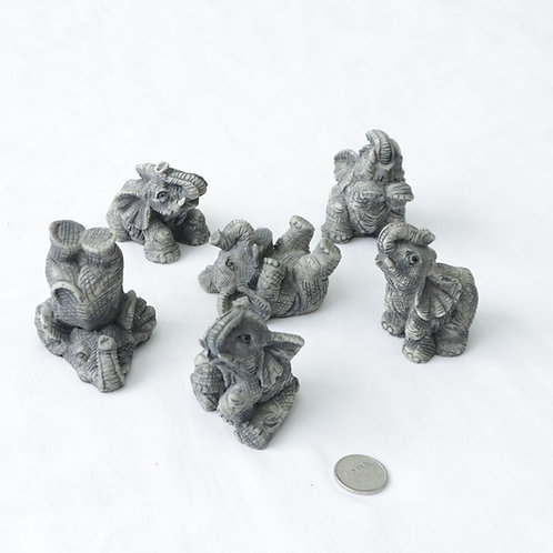 6 petits éléphants