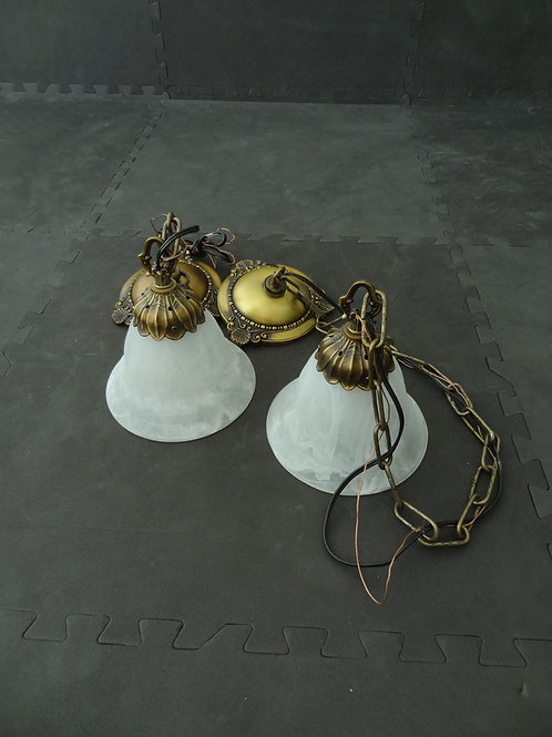 2 Lampes suspendues