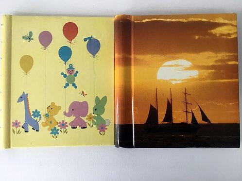 2 livres pour photos ou collants