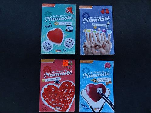 4 livres de Namasté