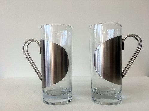 2 Tasses en verre