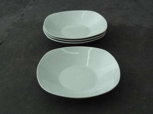 4 assiettes-bols