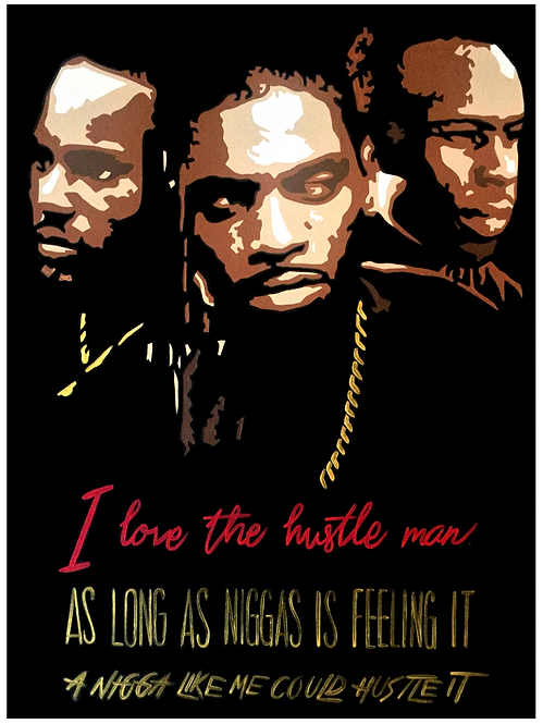 Love the Hustle (poster)