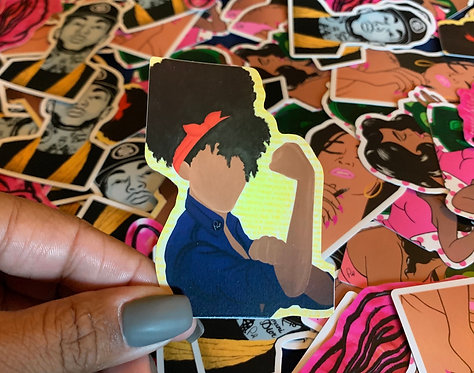 Stickers - Woman's World