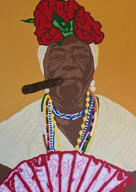 """""""REINAS HAVANAS - OLD HAVANA"""" print/poster"""
