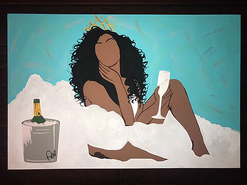 """""""CHAMPAGNE MAMI"""" poster"""
