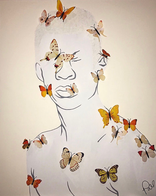 """""""BUTTERFLY EFFECT"""" HIM - poster/prints"""