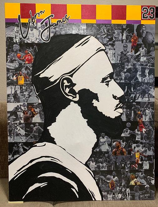 """LEBRON"" poster/print"