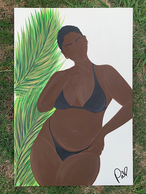 """""""THICC COLLECTION"""" - Costal Cocoa print/poster"""