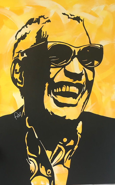 """RAY"" poster/print"