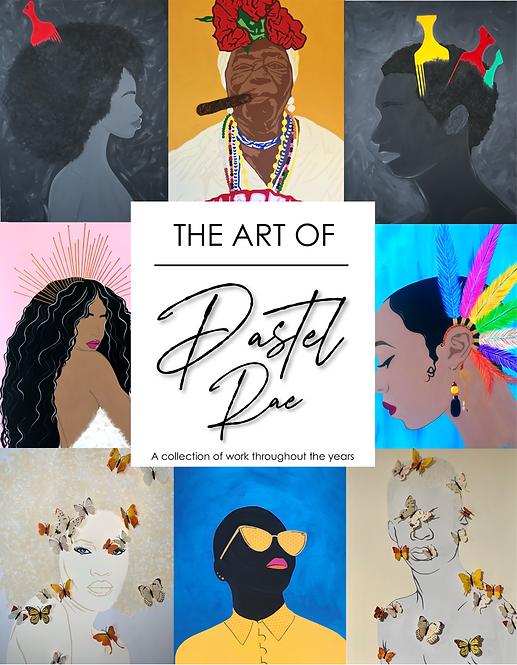 ART OF PASTEL RAE - Booklet