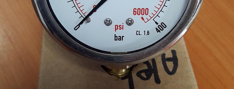 Манометр 400 bar радиальный