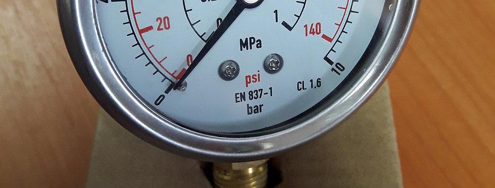 Манометр 10 bar радиальный
