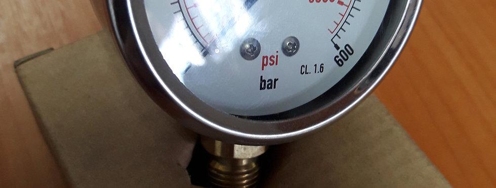 Манометр 600 bar радиальный