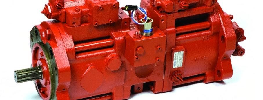 Гидравлический насос основной Kawasaki K3V112DT (KBJ2109) для экскаватора