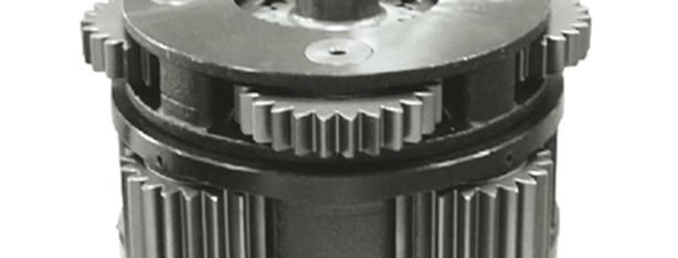Планетарная  передача CAT349 swing reductor