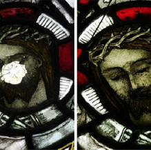 Christopher Whall window, detail