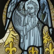 Thornhill Savile Chapel window, detail