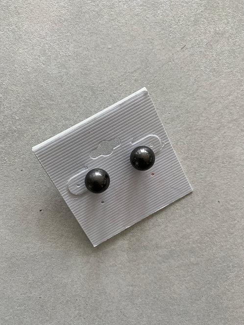 Cobalt Pearl Earrings