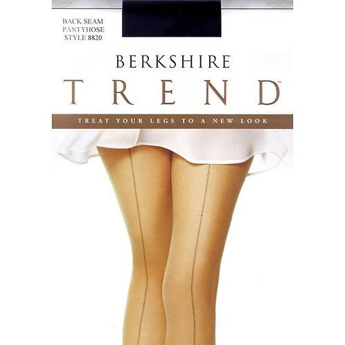 Berkshire Trend Back Seam Non-Control Top Pantyhose