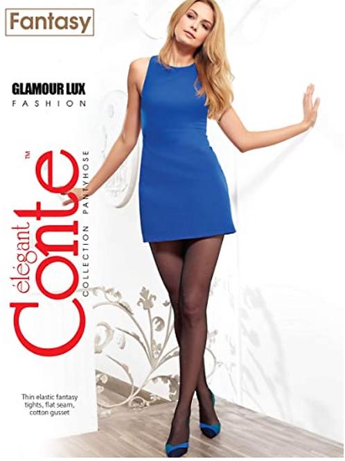 Conte Large Polka Dot Fantasy Design Pantyhose Tights Desire