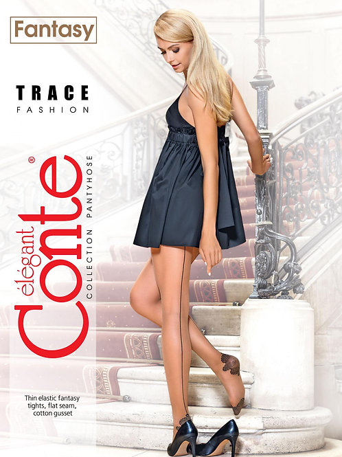 Conte Fantasy Design Pantyhose Trace Back Seam