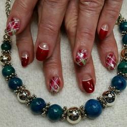 Beautiful Spring Nail Spa Christmas Nail Art 1