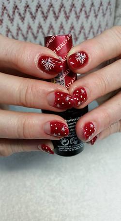 Beautiful Spring Nail Spa Christmas Nail Art 2
