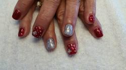 Beautiful Spring Nail Spa Christmas Nail Art 3