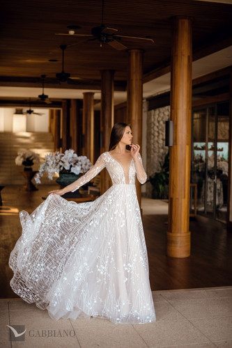 fernanda-wedding dress in Houston