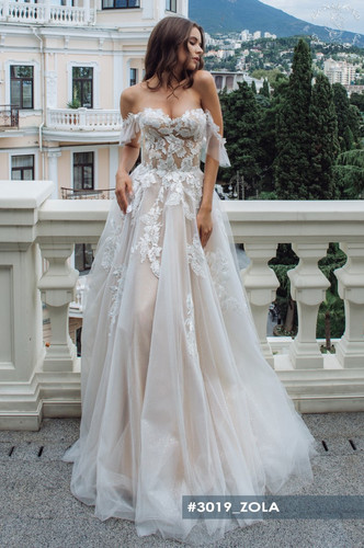 zola-wedding dress in Houston