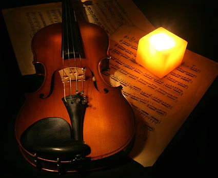 Violin and the candle.jpg