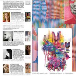 Italian Fashion and textile magazine