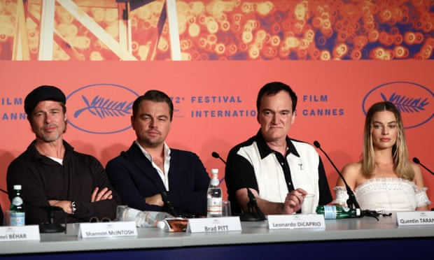 "Quentin Tarantino ""I reject your hypothesis"" Cannes"