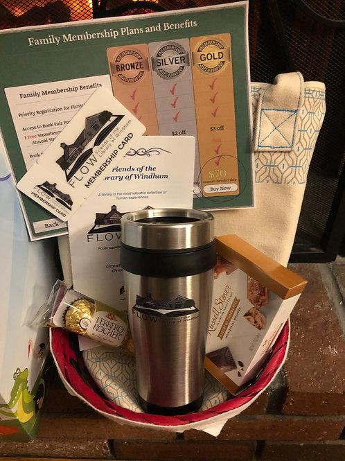 FLOW 1 Year Family Gold Membership Gift Basket!