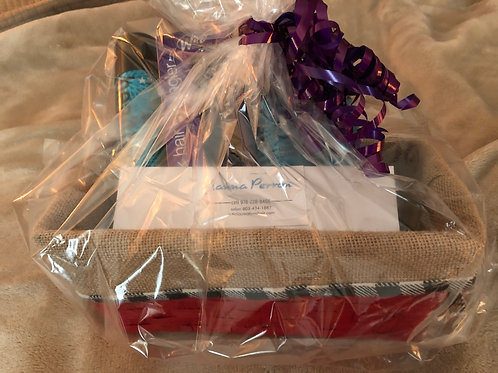 Artistic Creations Gift Basket/Certificate