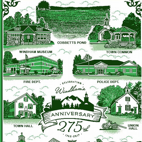 Black Moose's Town of Windham Commemorative Throw