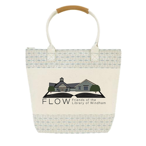 FLOW Canvas Tote (Pick up only)
