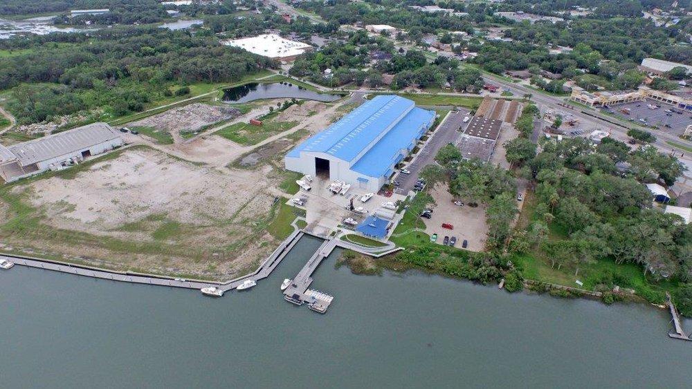 St. Augustine Shipyard - Aerial