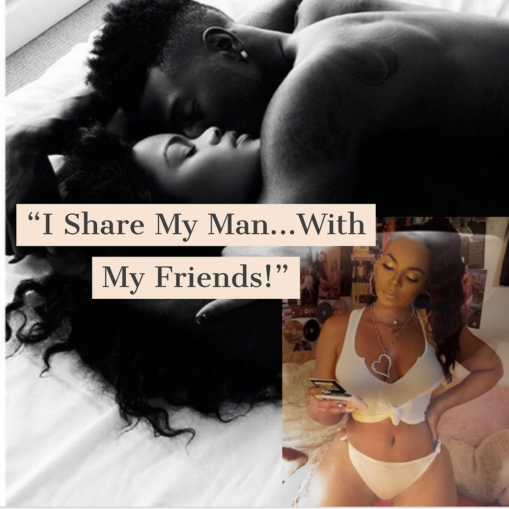 (L to R) Couple (In Bed), Singer Ashanti (Instagram)