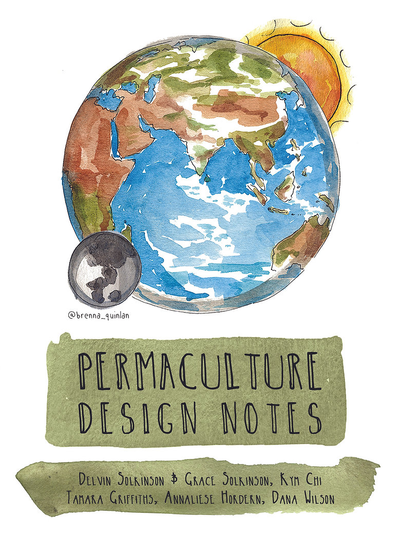 Permaculture Design Notes Cover 2020 oct