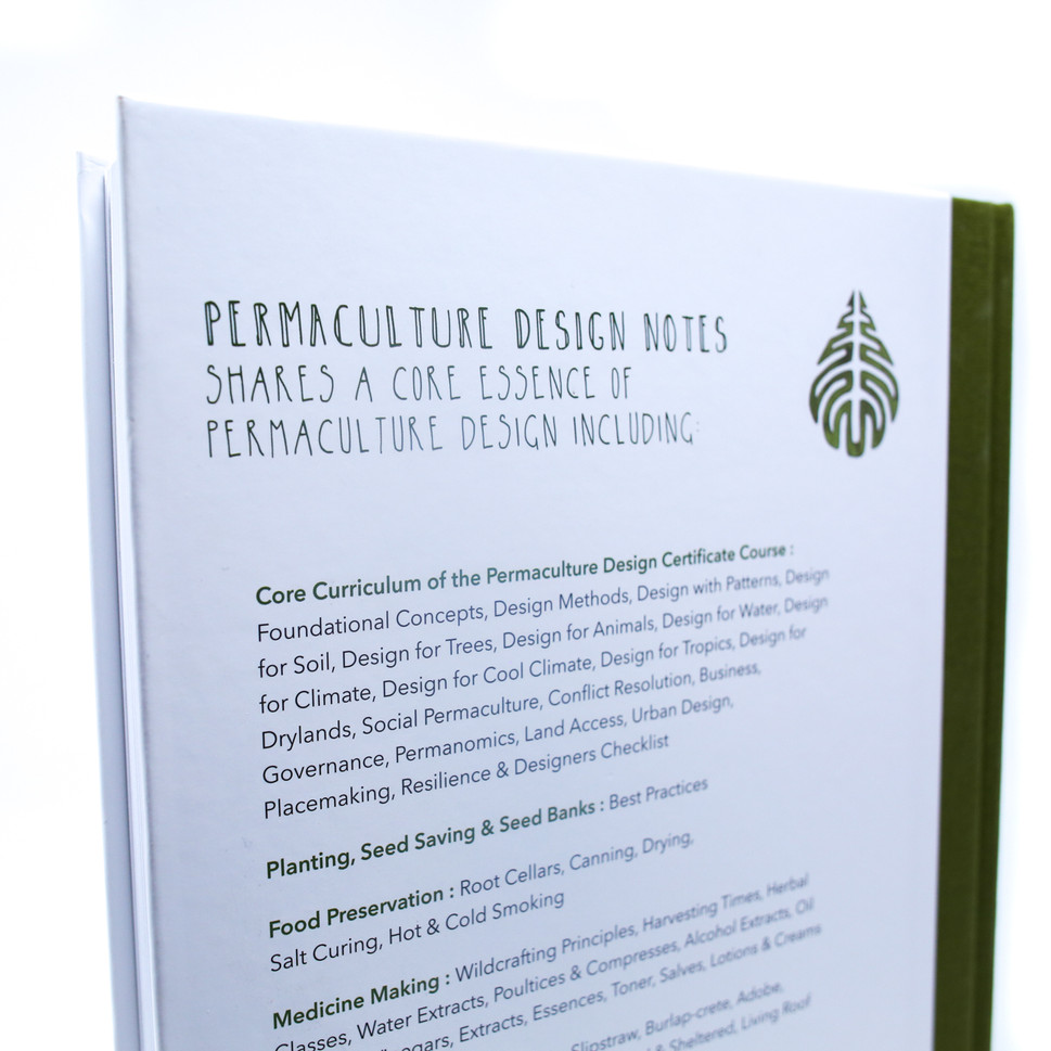 Permaculture Design Notes Book