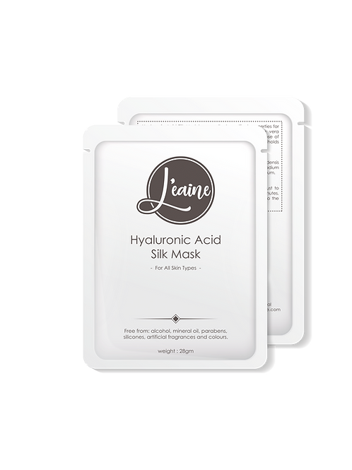 Hyaluronic Acid Silk Mask - 6pcs