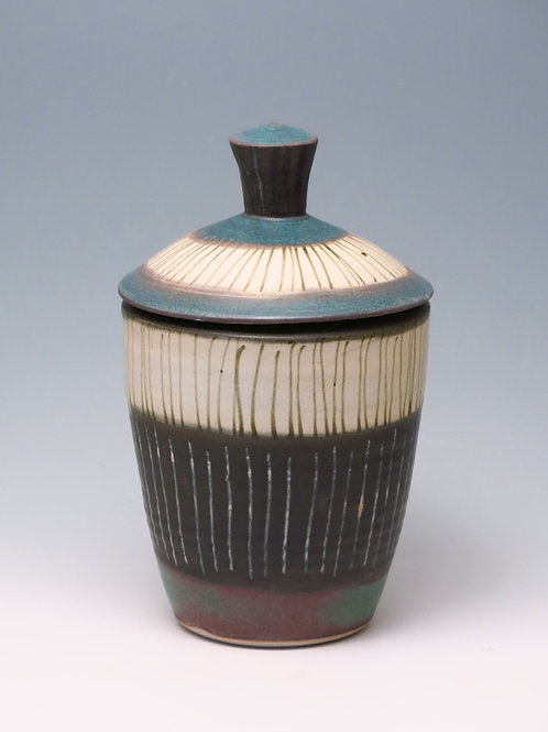 Exquisite Landscape Series Jar