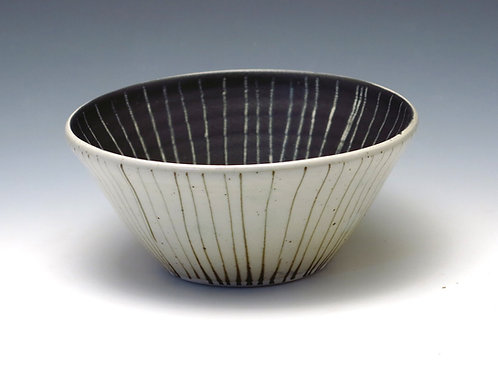 Black Stripe Bowl (up to 4 available)