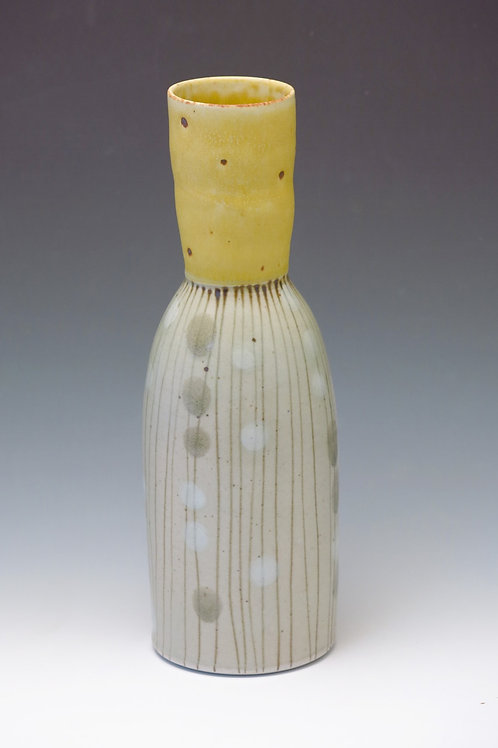 Yellow Stripe Vase (1 available)