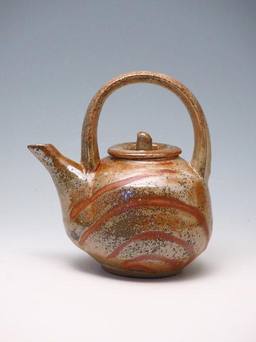 Teapot with Shino Glaze