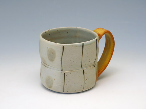 Gray Dot Squared Mug (up to 4 available)