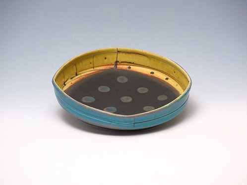 Low Bowl with dots